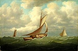 Image of Yacht Painting